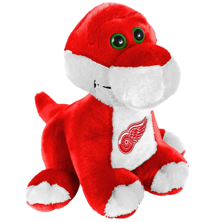 Forever Collectibles Plyšák Detroit Red Wings Brontosaurus