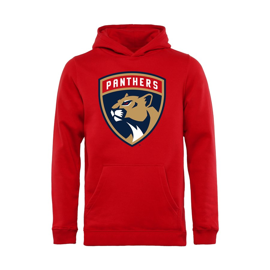 Fanatics Branded Dětská Mikina Florida Panthers Primary Logo Hoodie Velikost: Dětské M (9 - 11 let)
