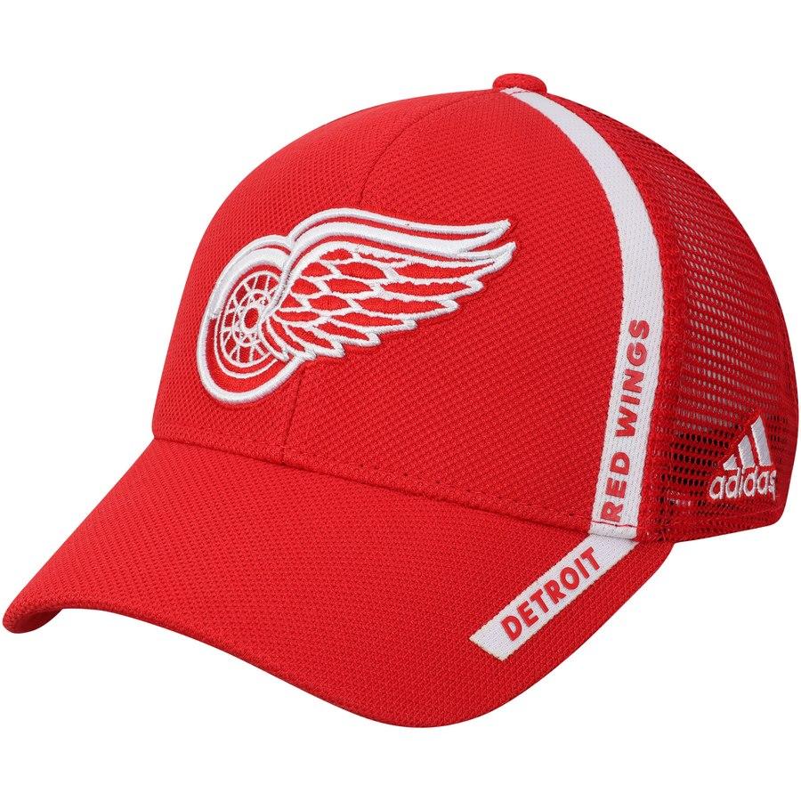 Kšiltovka Detroit Red Wings Adidas Charlie Trucker