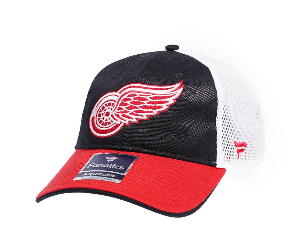 Fanatics Kšiltovka Detroit Red Wings Iconic Trucker Shadow