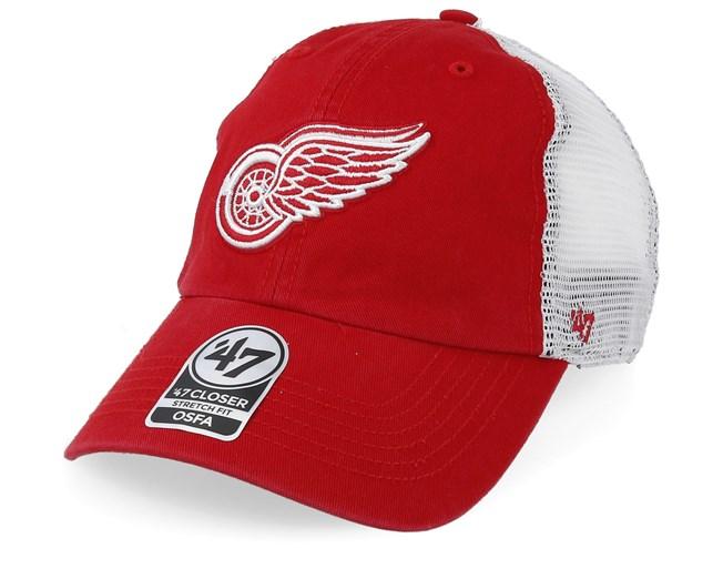 47 Brand Kšiltovka Detroit Red Wings Closer Stretchfit