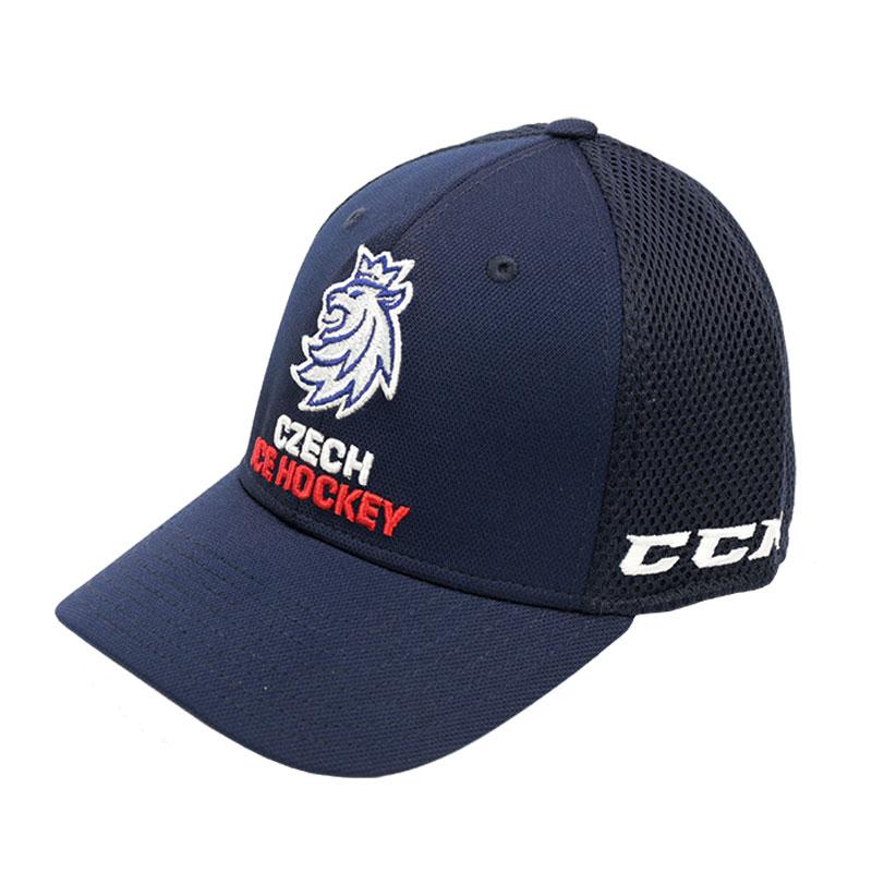 CCM Kšiltovka Czech Ice Hockey Team Logo Lev Structured Flex Velikost: S/M