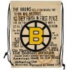 NHL vak Boston Bruins Historic Canvas Drawstring