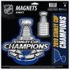 Set magnetek St. Louis Blues WinCraft 2019 Stanley Cup Champions Official Locker Room 3-Piece Indoor/Outdoor Magnet Set