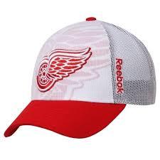 ŠILTOVKY A ČAPICE Detroit Red Wings