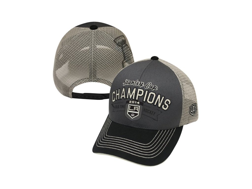 Šiltovka Los Angeles Kings 2014 Stanley Cup Champions Trucker