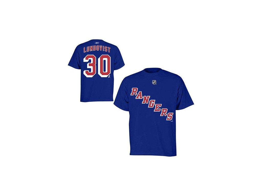Tričko - #30 - Henrik Lundqvist - New York Rangers