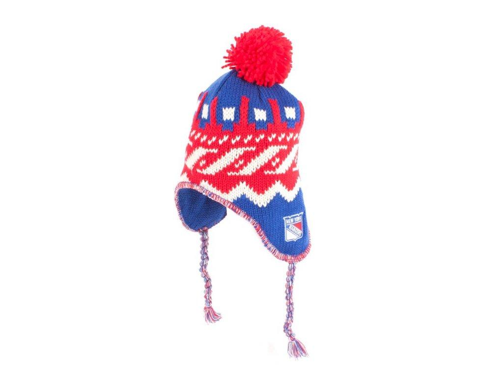Zimná čiapka New York Rangers Tassle