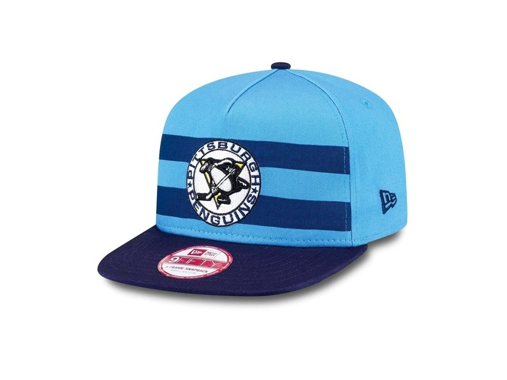 Šiltovka Pittsburgh Penguins Double Stripe Snapback