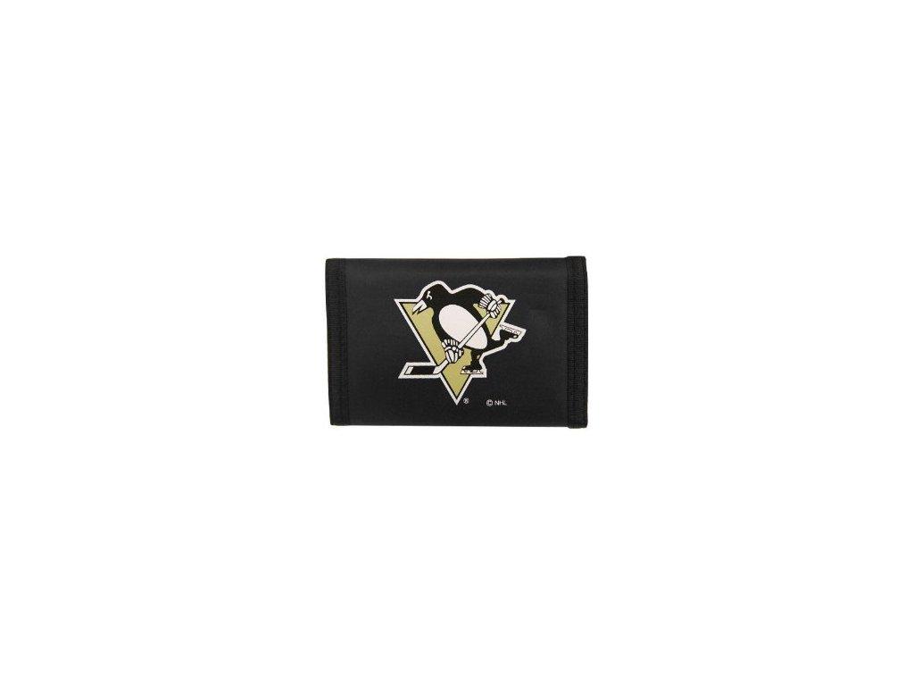 Peňaženka - Nylon Trifold - Pittsburgh Penguins