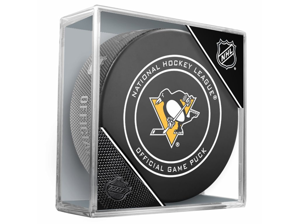 Puk Pittsburgh Penguins Game Official
