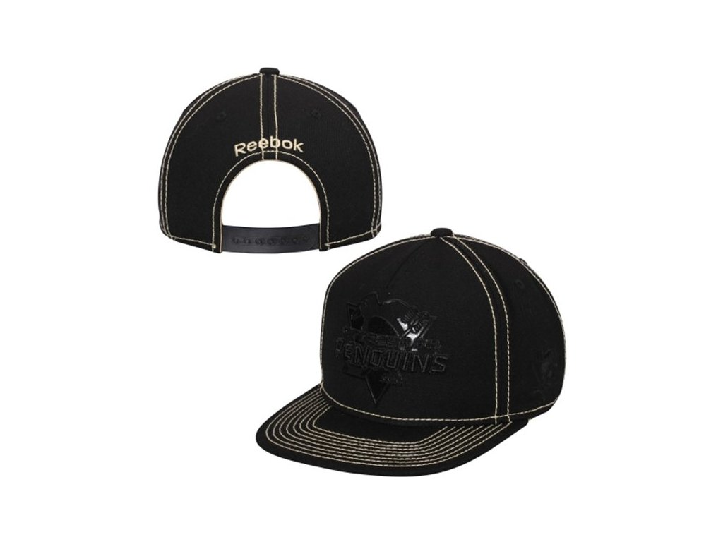 Šiltovka Pittsburgh Penguins Reebok Cross Check Snapback