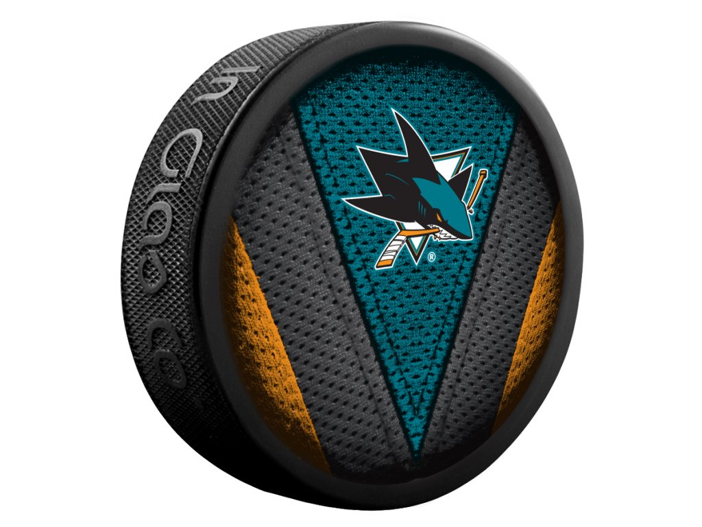 Puk San Jose Sharks Stitch