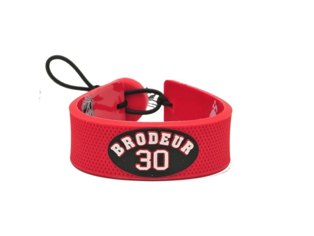 Gumový náramok - New Jersey Devils Martin Brodeur