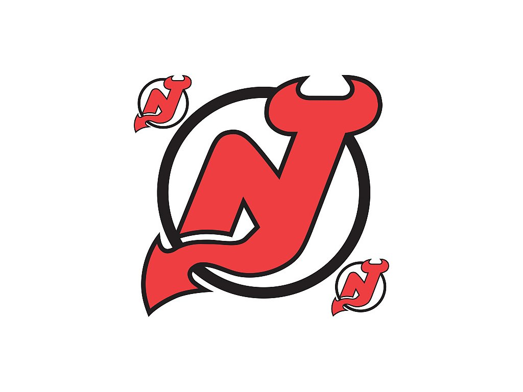 Logo na stenu - Peel and Stick - New Jersey Devils