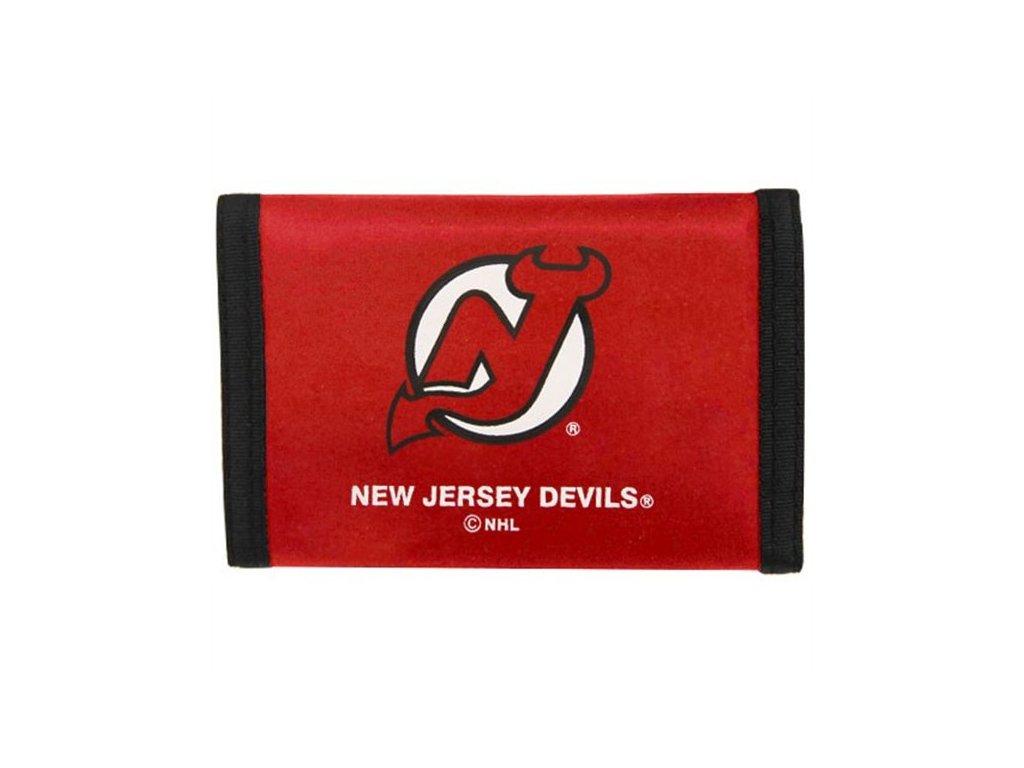 peňaženka - Nylon Trifold - New Jersey Devils
