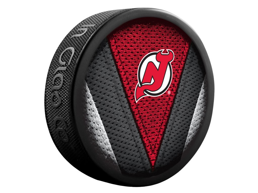 Puk New Jersey Devils Stitch