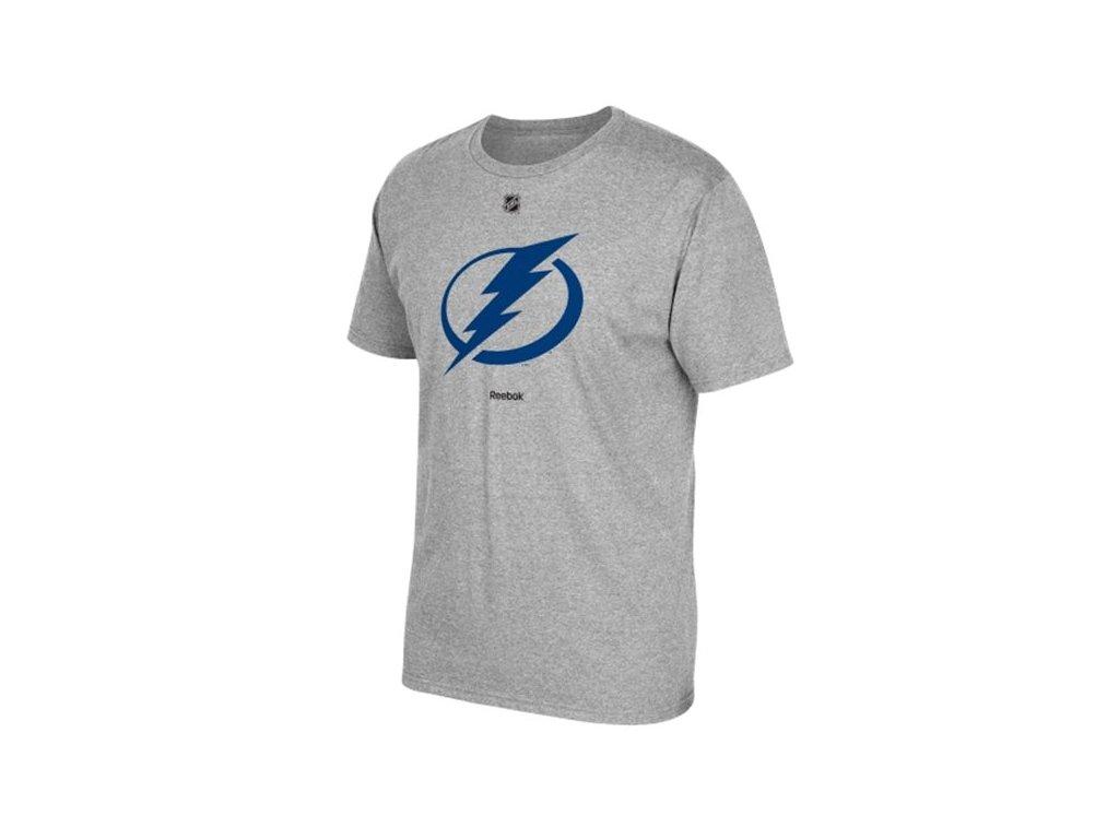 Tričko Tampa Bay Lightning Primary Logo Gray