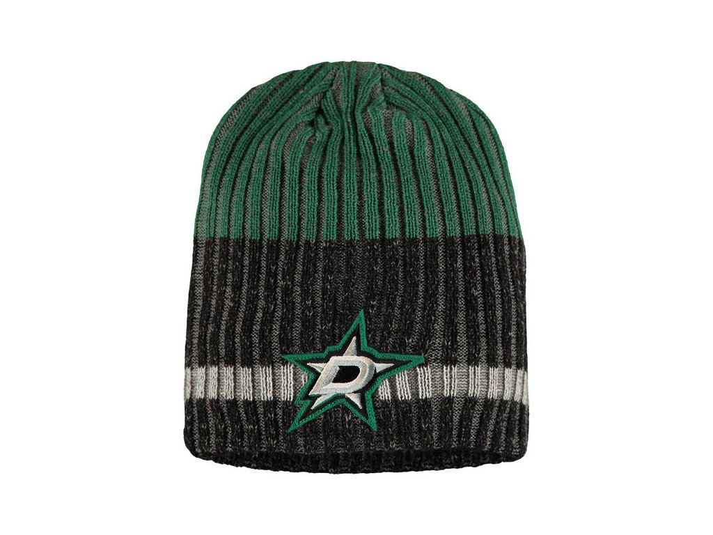 Zimná čiapka Dallas Stars Reebok Face-Off Heathered Knit Beanie