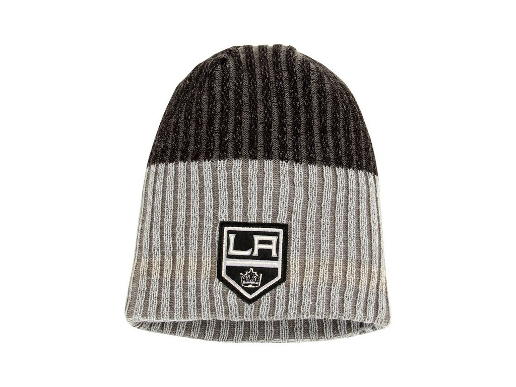 Zimná čiapka Los Angeles Kings Reebok Face-Off Heathered Knit Beanie