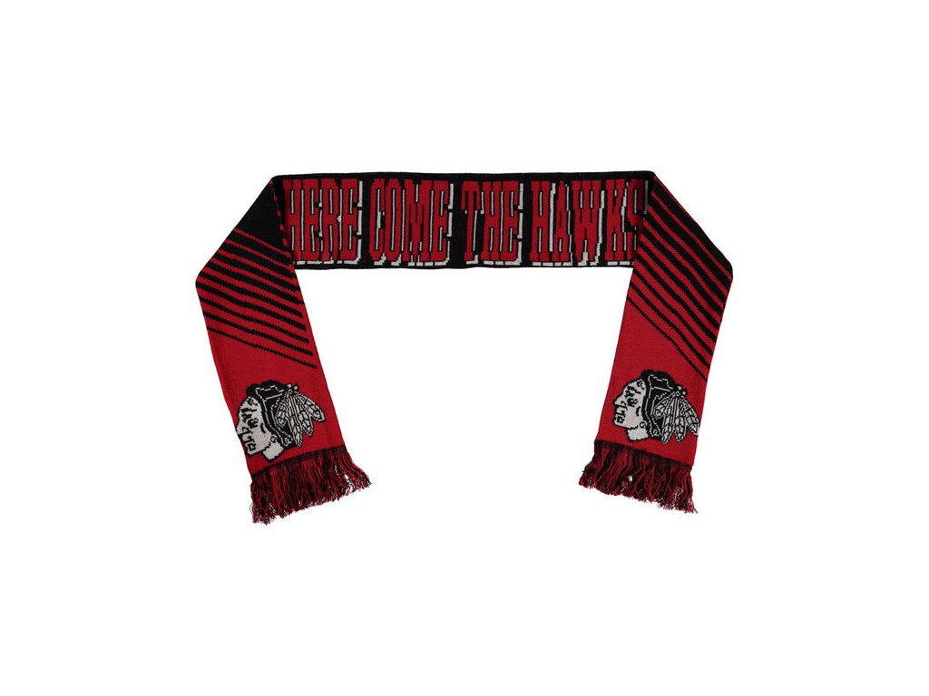 Šáľ Chicago Blackhawks Slogan Scarf
