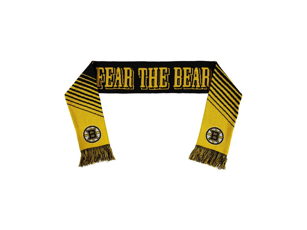 Šáľ Boston Bruins Slogan Scarf
