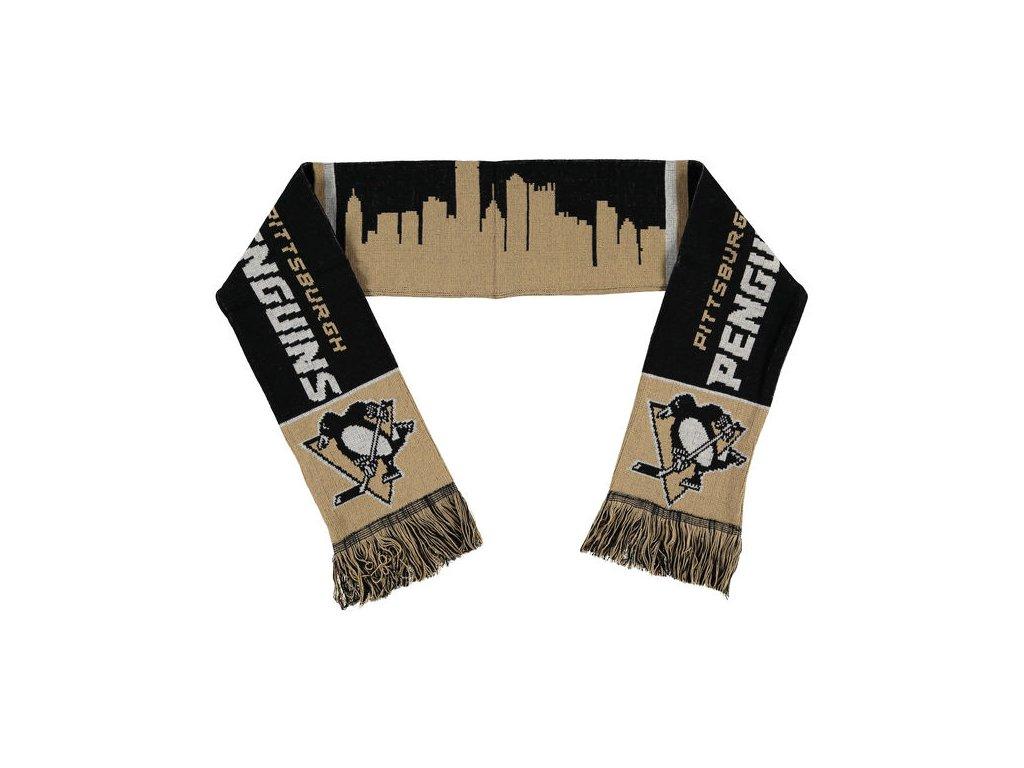 Šáľ Pittsburgh Penguins Skyline Scarf