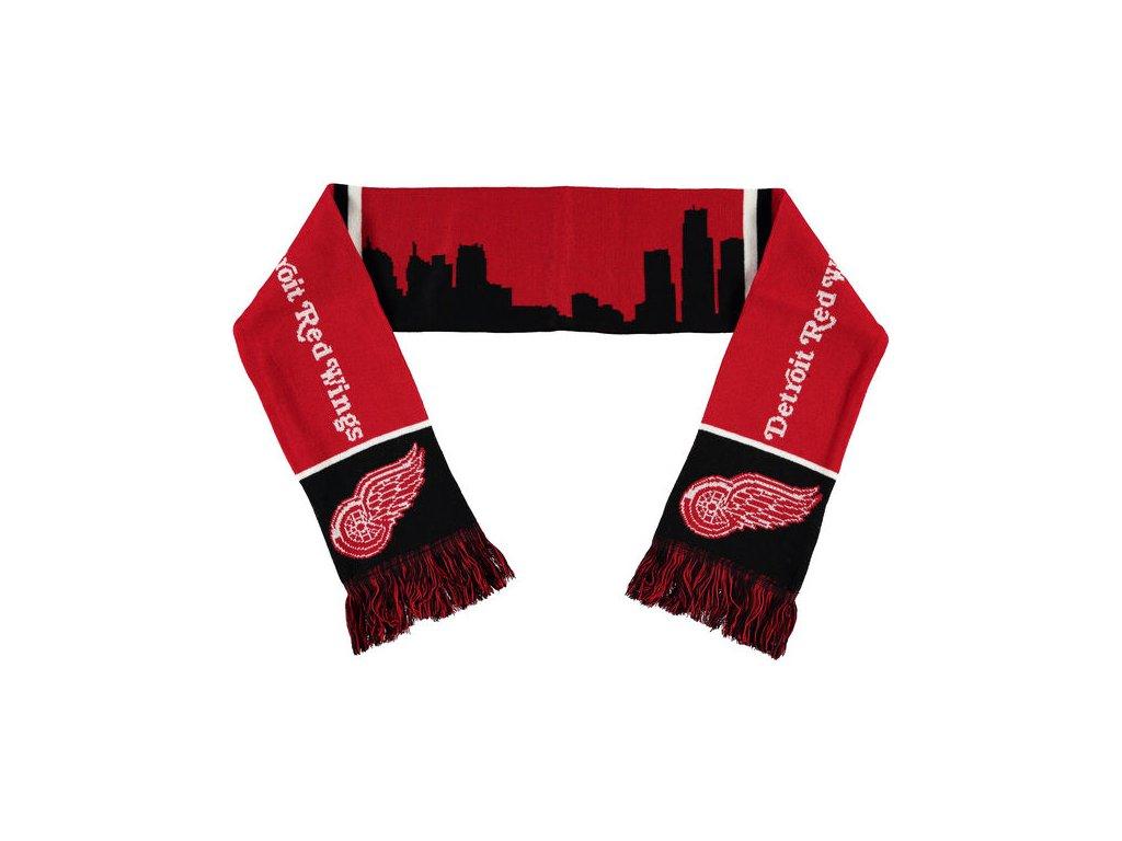 Šáľ Detroit Red Wings Skyline Scarf