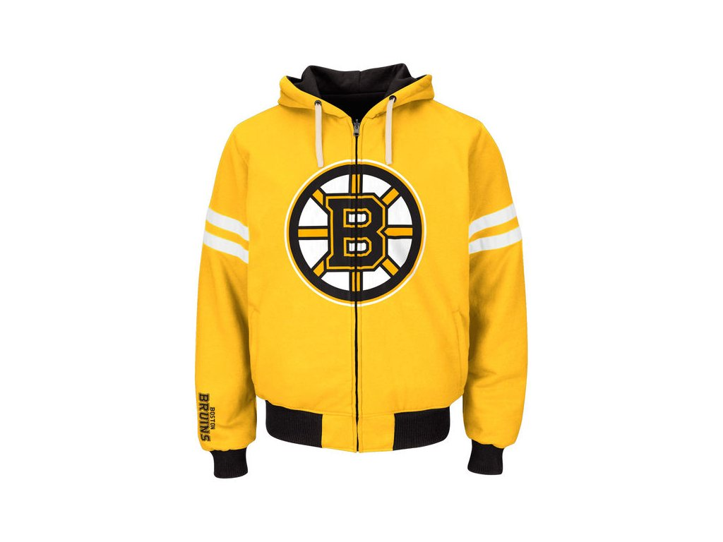 Mikina Boston Bruins Carl Banks Legend Reversible Hoodie