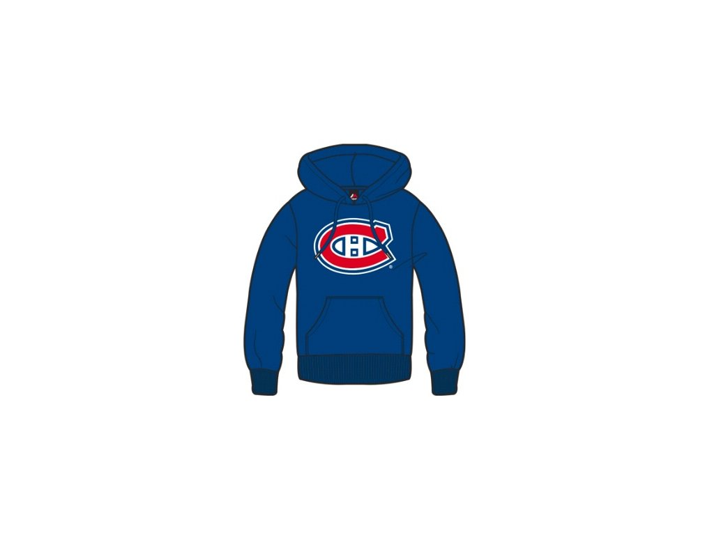 Mikina Montreal Canadiens Majestic Bember Hoody