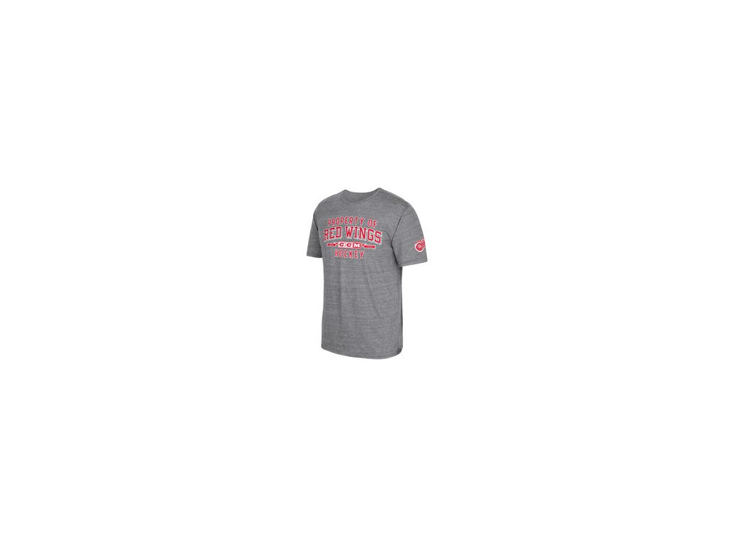 Tričko Detroit Red Wings CCM Property Block Tri-Blend