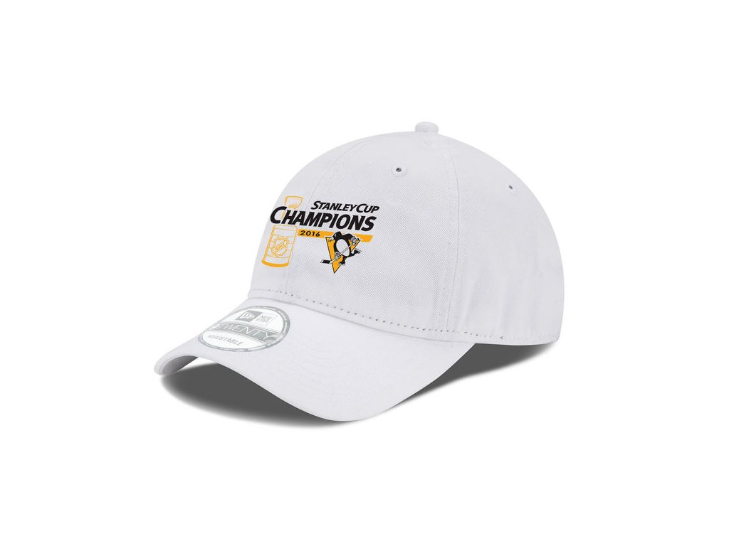 Šiltovka Pittsburgh Penguins 2016 Stanley Cup Champions 9TWENTY White