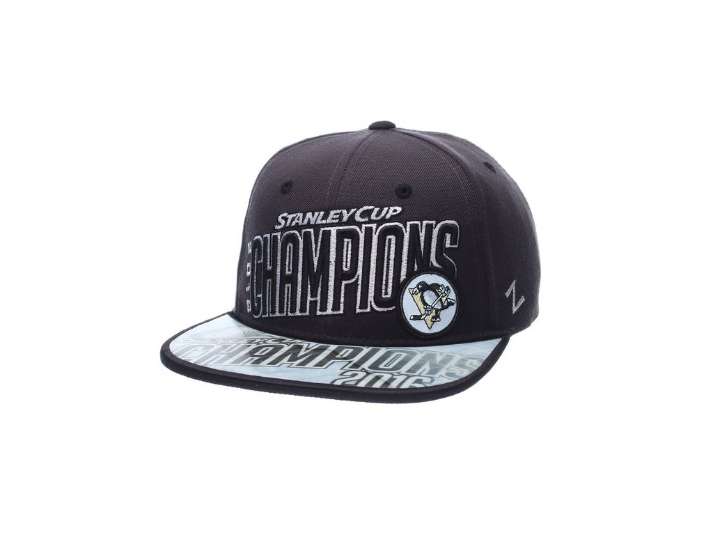 Šiltovka Pittsburgh Penguins 2016 Stanley Cup Champions Snapback