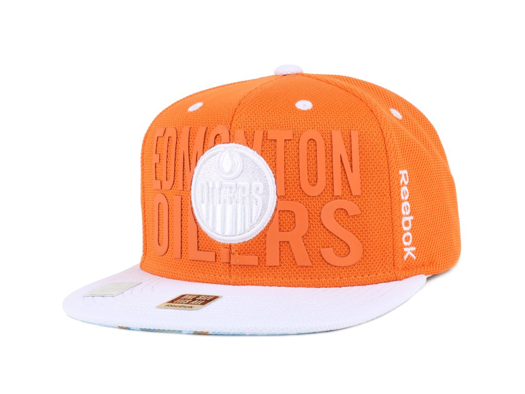 Šiltovka Edmonton Oilers High D Snapback