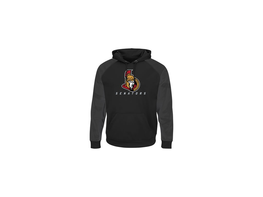 Mikina Ottawa Senators Majestic Penalty Shot Therma Base Hoodie