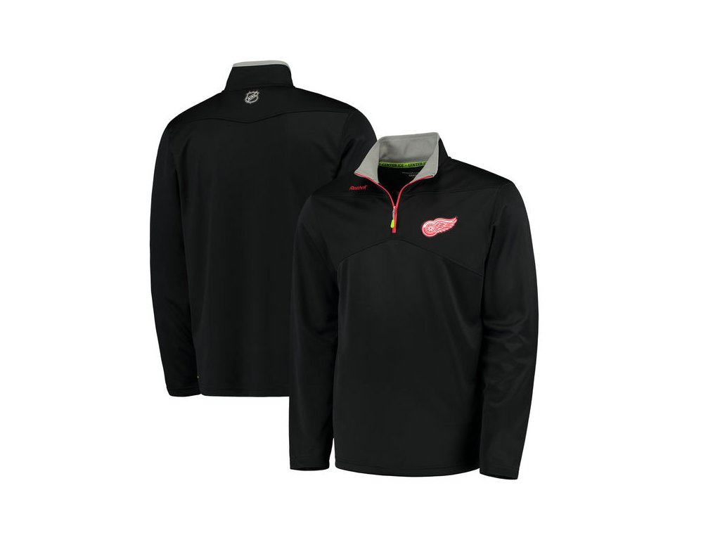 Mikina Detroit Red Wings Center Ice Quarter-Zip Baselayer (Velikost S, Distribuce USA)