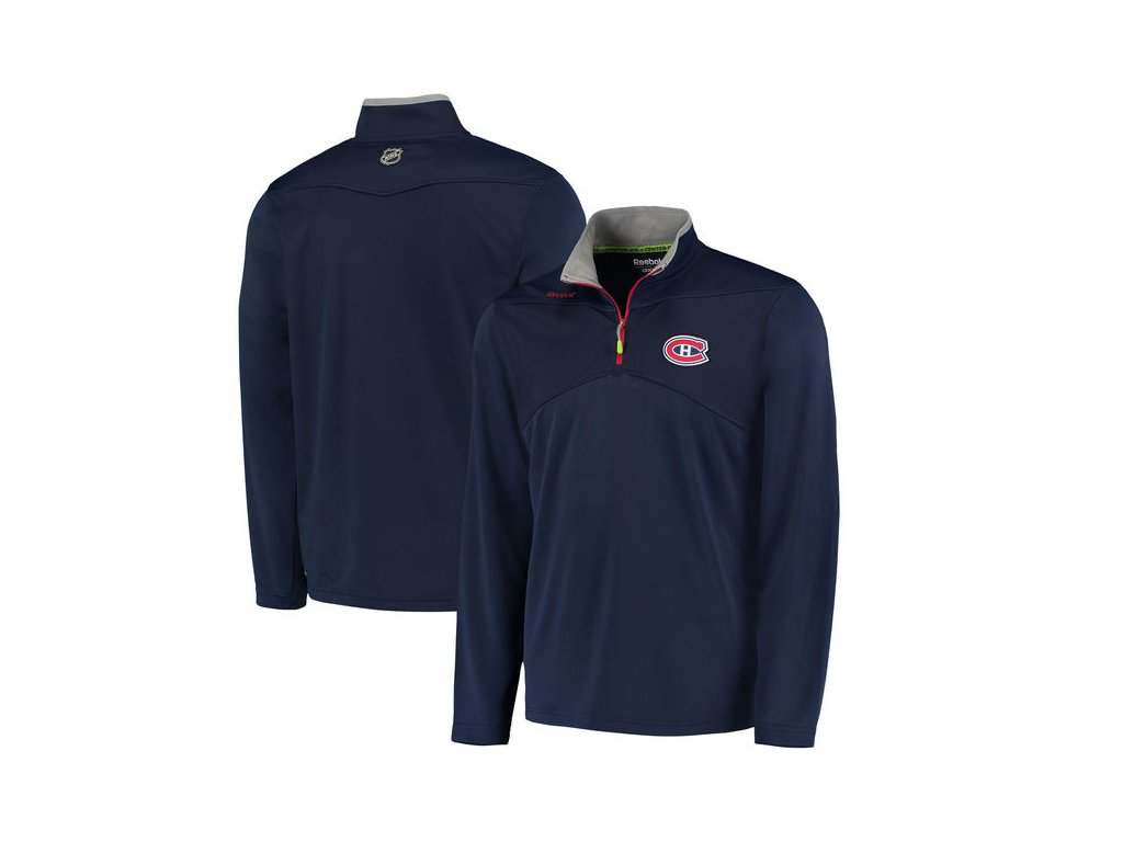 Mikina Montreal Canadiens Center Ice Quarter-Zip Baselayer (Velikost S, Distribuce USA)