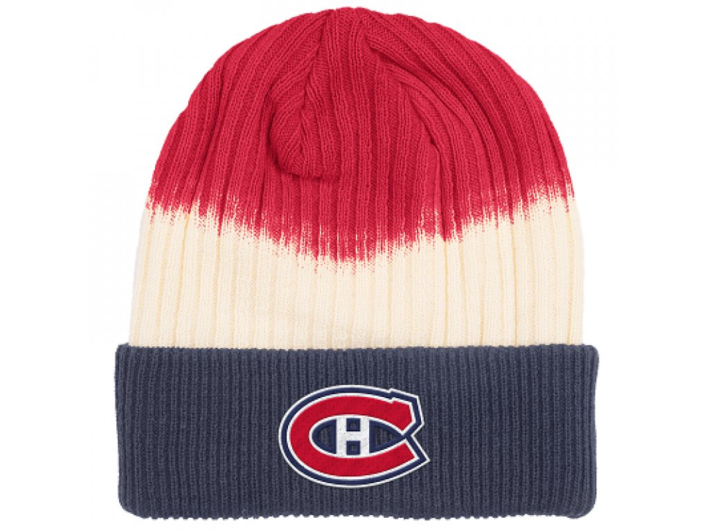 Zimná Čiapka Montreal Canadiens Dip Dye Cuffed (Distribuce EU)