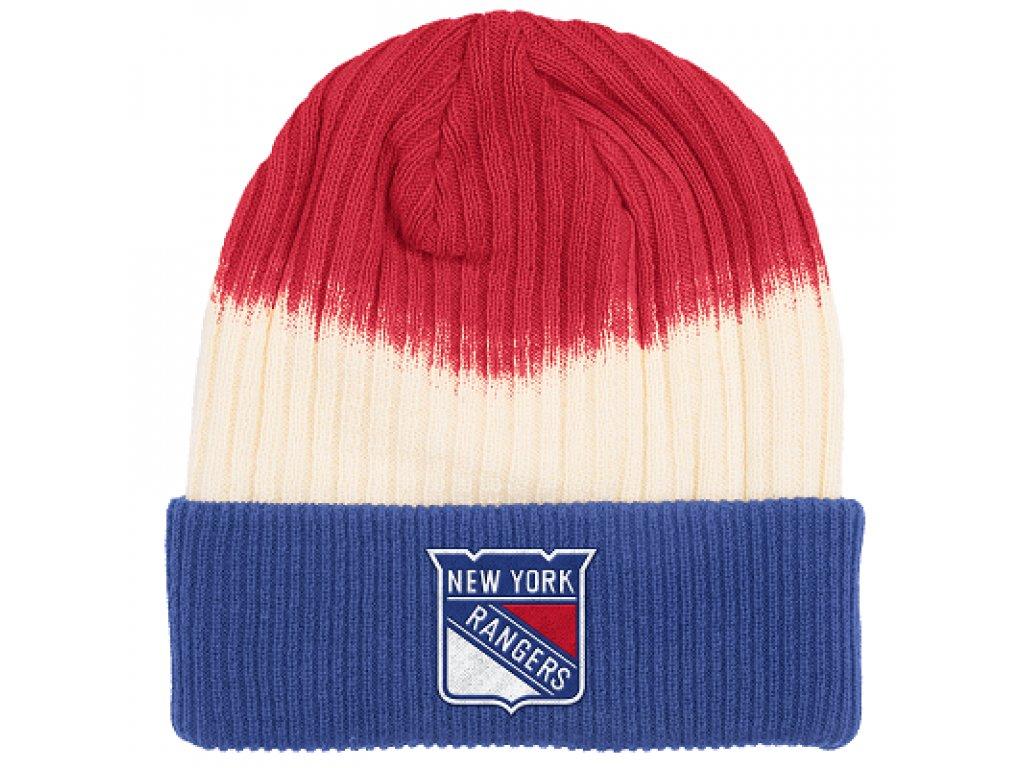Zimná Čiapka New York Rangers Dip Dye Cuffed (Distribuce EU)