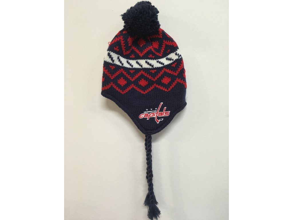 Zimná Čiapka Washington Capitals Tassel Knit 16