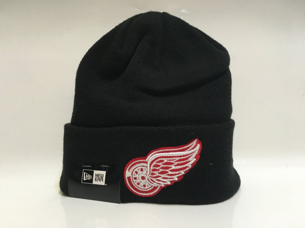Zimná Čiapka Detroit Red Wings New Era Cuffed Knit