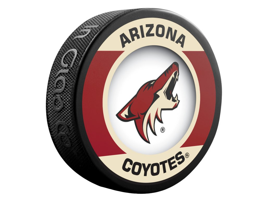Puk Arizona Coyotes Retro