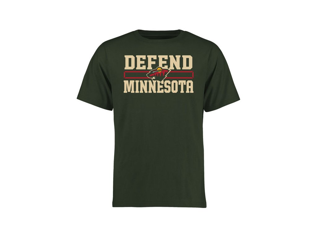 Tričko Minnesota Wild Hometown Defend
