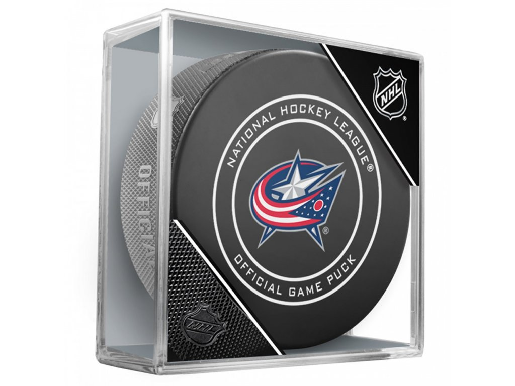 Puk Columbus Blue Jackets Game Official