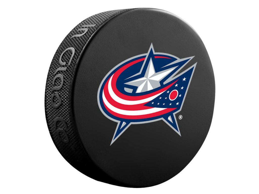 Puk Columbus Blue Jackets Basic