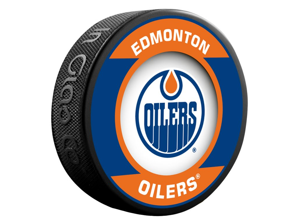 Puk Edmonton Oilers Retro