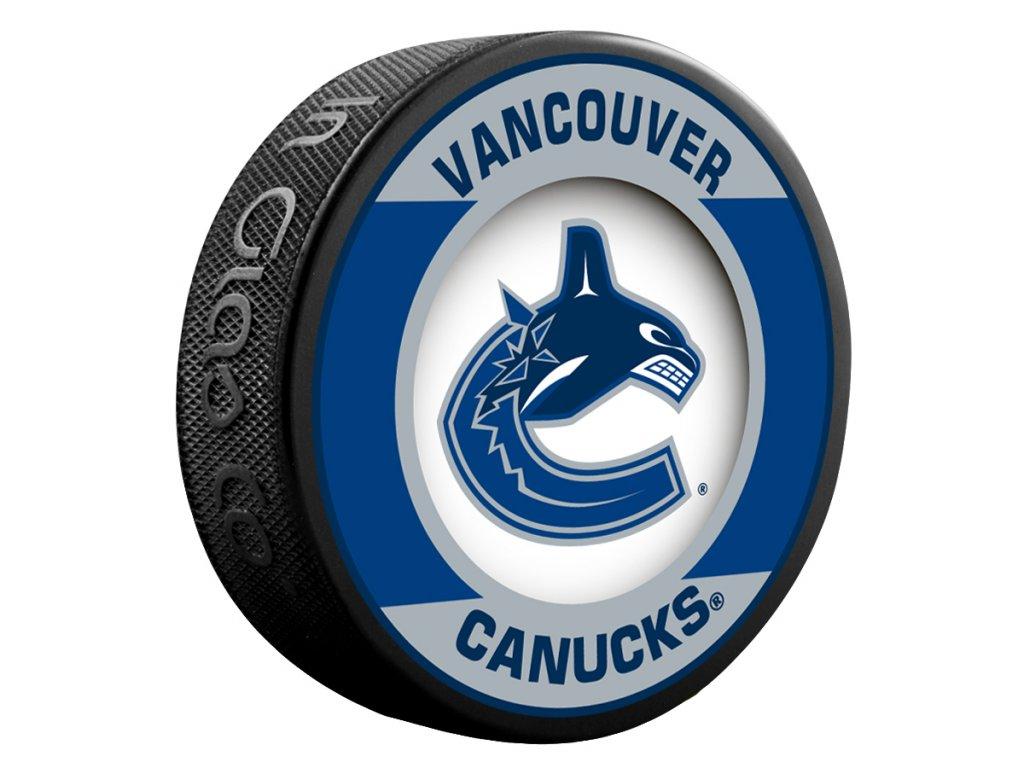 Puk Vancouver Canucks Retro