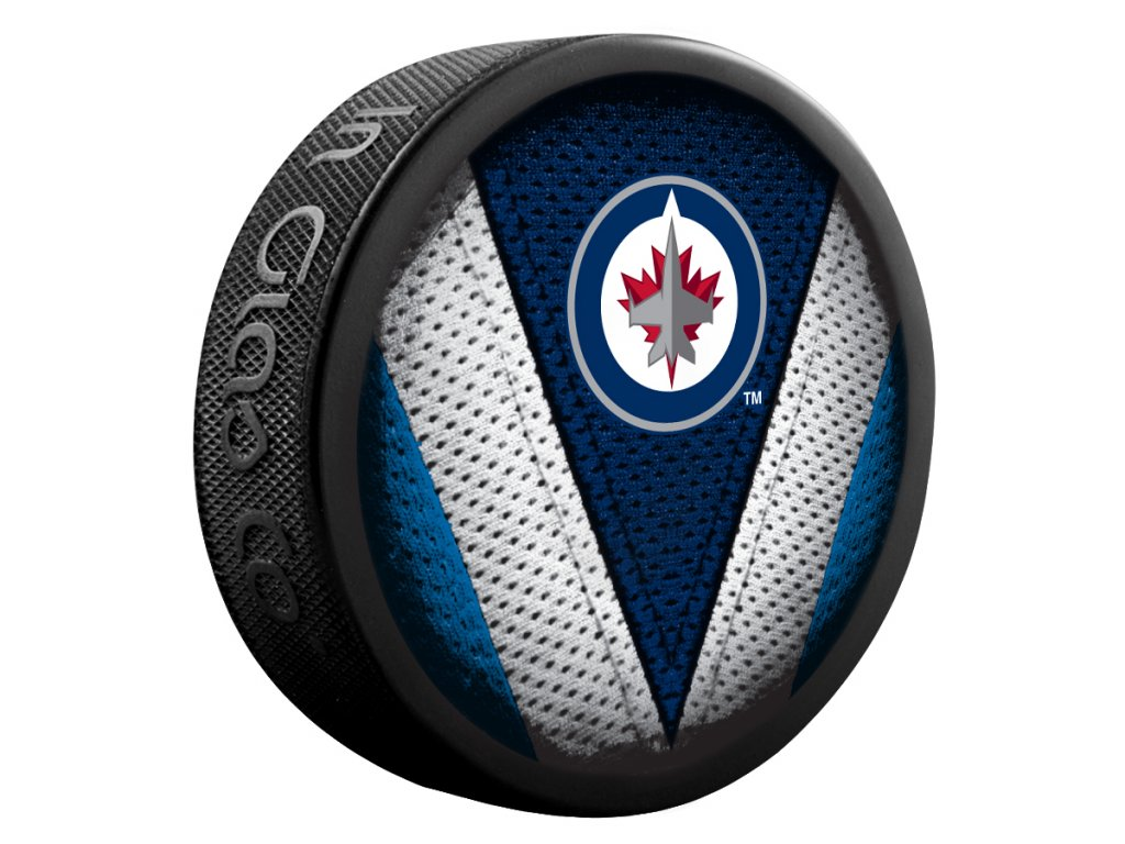 Puk Winnipeg Jets Stitch
