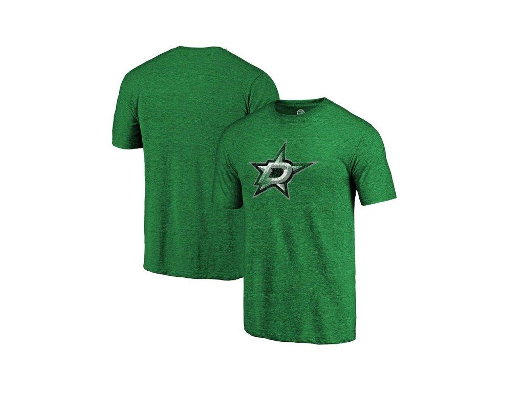 Tričko Dallas Stars Distressed Primary Logo Tri-Blend