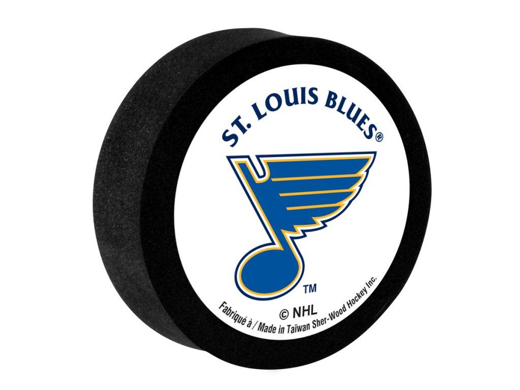 Penový puk St. Louis Blues Sher-Wood